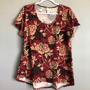 """Lularoe • Classic Tee """"Disney Roses"""""""